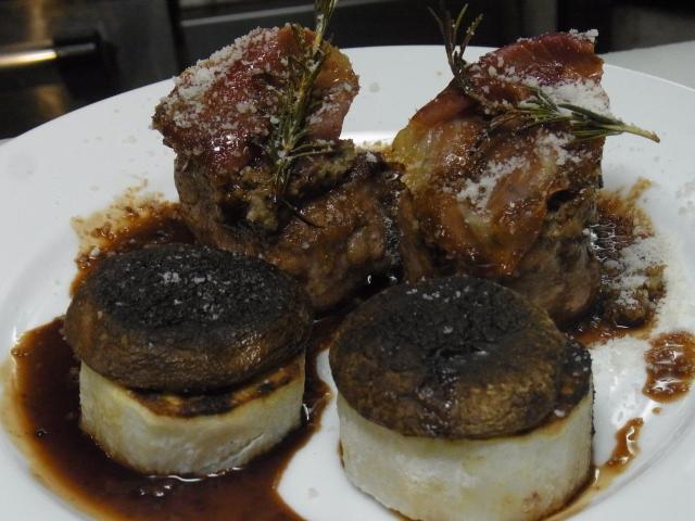 豚フィレ肉のグリル